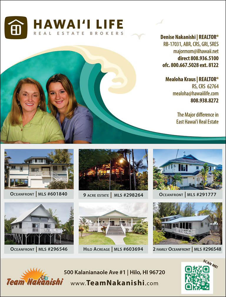 DENISE S NAKANISHI-HAWAII LIFE REAL ESTATE B