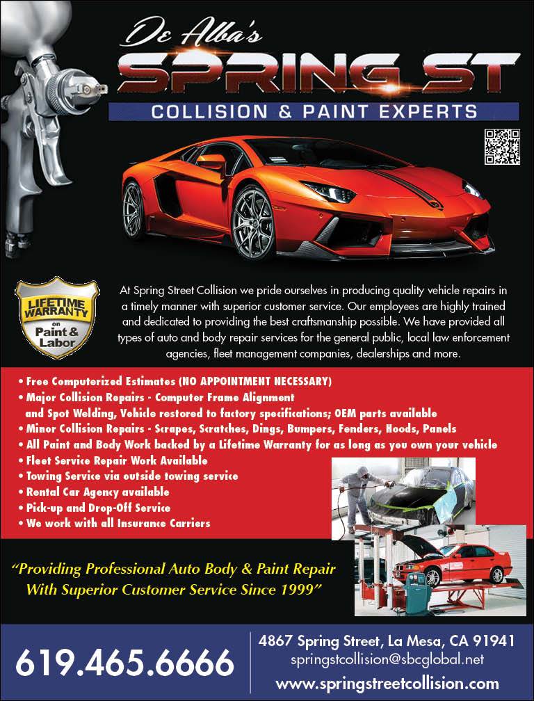 DE ALBA'S SPRING ST COLLISION & PAINT EXPERTS