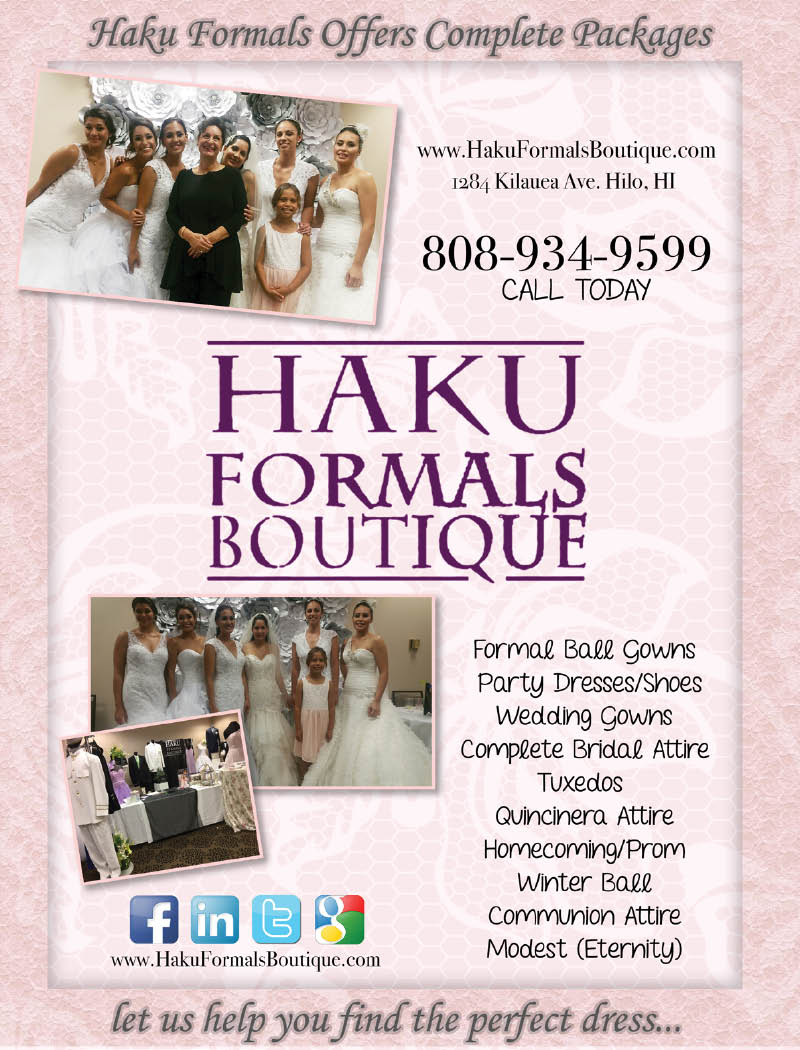 HAKU FORMALS BOUTIQUE