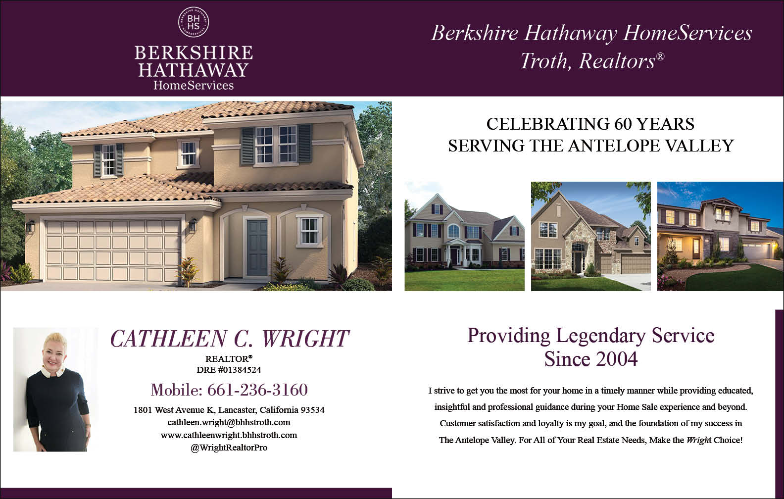 CATHLEEN C WRIGHT - BERKSHIRE HATHAWAY