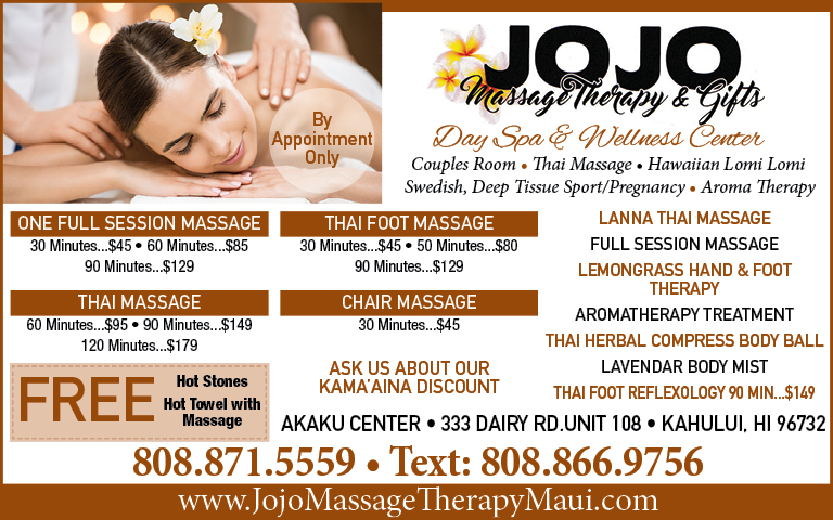 JOJO MASSAGE THERAPY & GIFTS