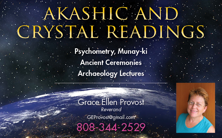 AKASHIC AND CRYSTAL READINGS